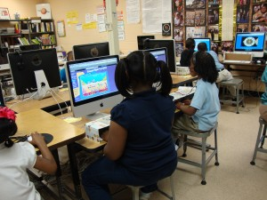 First Graders Touch Typing