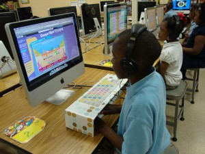 Touch Typing--1st Grade